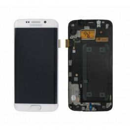 LCD Originale Samsung S6 EDGE G920 White/Bianco (GH97-17334B)