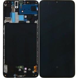 LCD Originale Samsung Service Pack A70 Black/Nero SM-A705 (GH82-19747A)