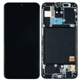 LCD Originale Samsung Service Pack A41 Black/Nero SM-A415 (GH82-22860A)