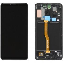 LCD Originale Samsung Service Pack A9 Black/Nero SM-A920 (GH82-18322A)