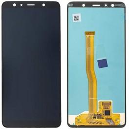 LCD Originale Samsung Service Pack A7 Black/Nero SM-A750 (GH96-12078AA)