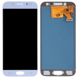 LCD Originale Samsung Service Pack  Silver Blue SM-J530 (GH97-20738B)