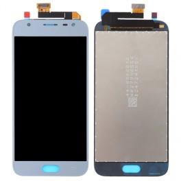 LCD Originale Samsung Service Pack J3 Silver Blue SM-J330 (GH97-10992A)
