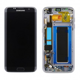 LCD Originale Service Pack Samsung S7 EDGE G935 Black/ Nero (GH97-18533A)