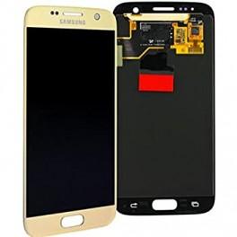 LCD Originale Service Pack Samsung S7 EDGE G935 Gold/Oro (GH97-18533C)