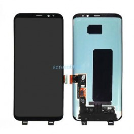 LCD Originale Service Pack Samsung S8 SM-G950 Black/ Nero (GH97-20457A)