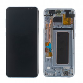 LCD Originale Service Pack Samsung S8 SM-G950 Silver Blue (GH97-20473B)