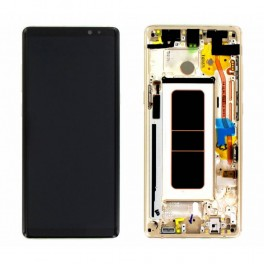 LCD Originale Service Pack Samsung Note 8 SM-G960 Gold/Oro (GH97-21065D)